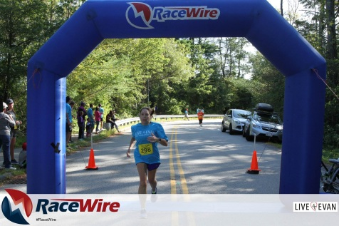 Live4Evan 5k Finish Line