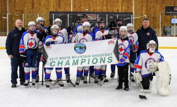 EC Leafs Waterville Vallley Hockey Tournament 2017